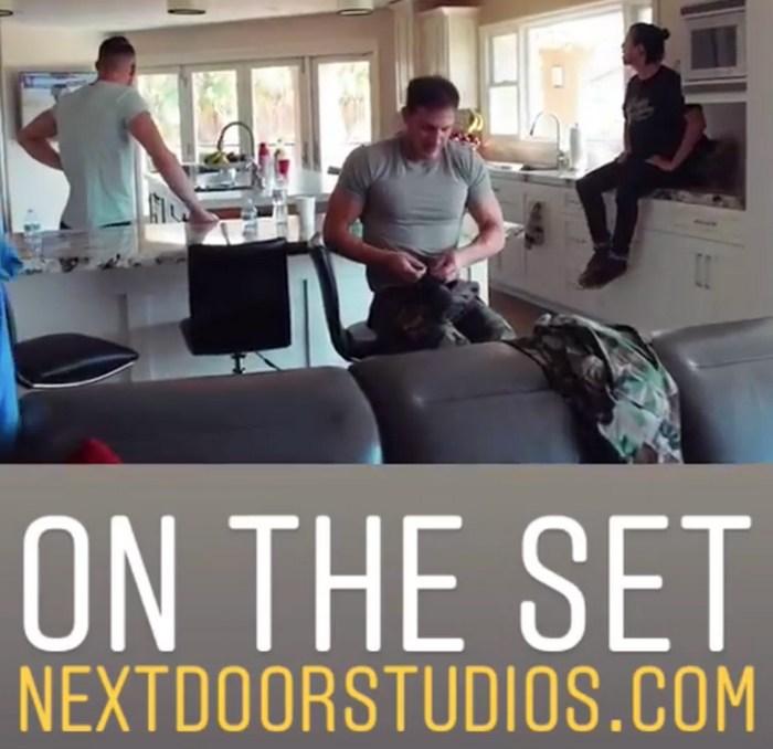 Brandon Sean Cody Gay Porn Behind The Scenes Next Door Studios