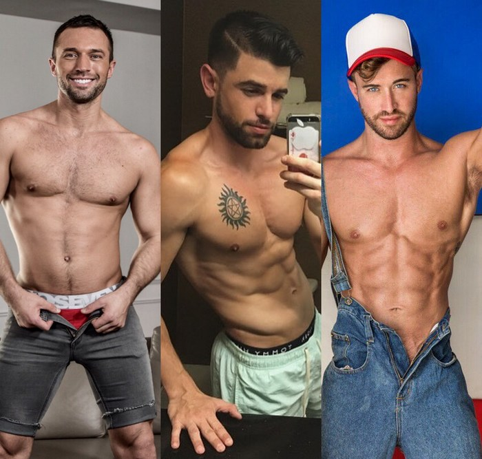 Colby Tucker Joaquim Cruze Grant Ryan Gay Porn Stars Shirtless