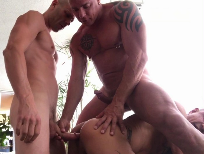 Gay Porn BigCMen RyanCarter PupDigger Muscle Daddy Bareback Fuck JustForFans