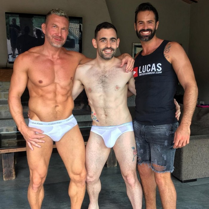 Gay Porn Star Behind The Scenes Barcelona LucasEnt