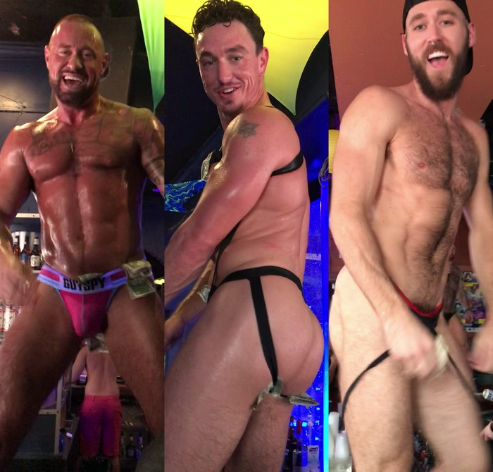 Gay Porn Star GoGo Dancing Stripper Cade Maddox Michael Roman Ziggy Banks Southern Decadence 2018