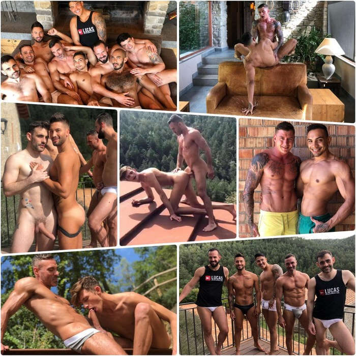 Gay Porn Stars Behind The Scenes Barcelona LucasEntertainment 2018