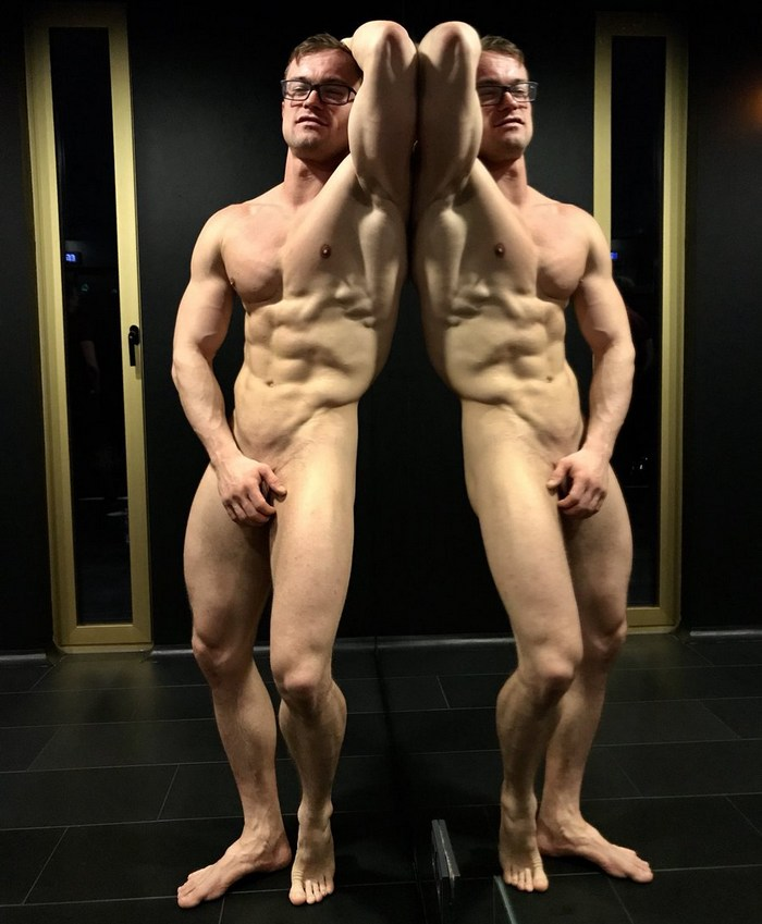 Henrik Sommer Gay Porn Muscle Hunk Power Bottom
