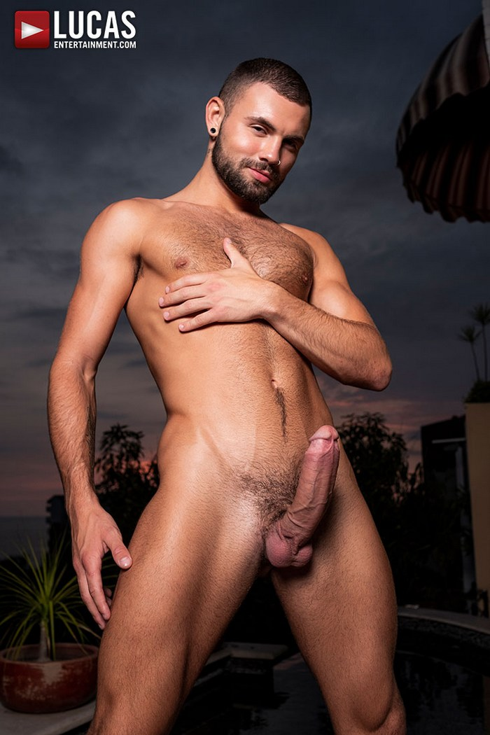 Jeffrey Lloyd Big Dick Gay Porn Star Naked