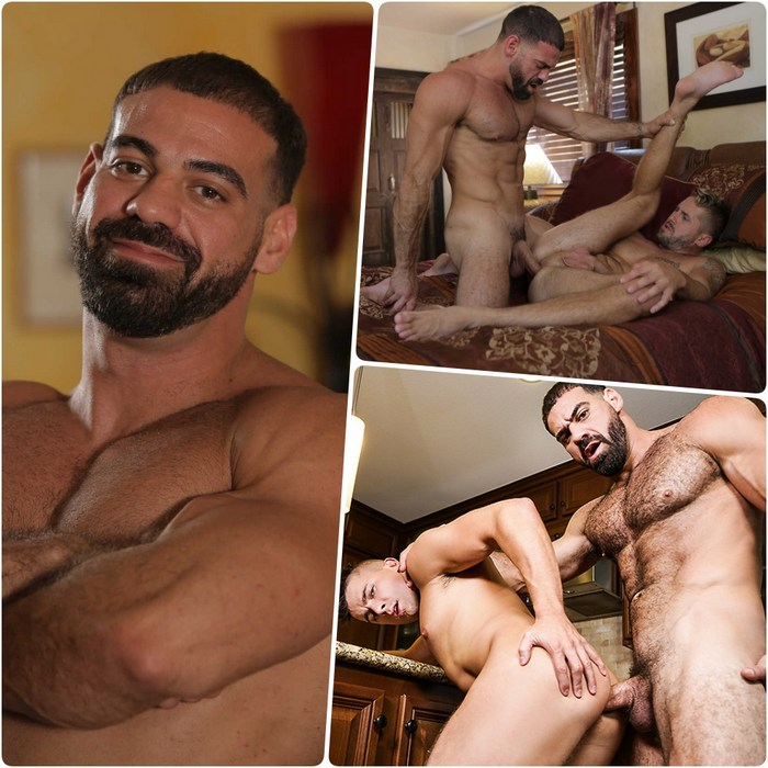 Hot chad johnstone and dominik black fighting and fucking