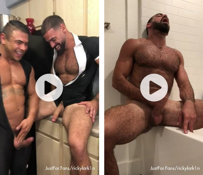 Ricky Larkin Gay Porn Star Naked JustForFans