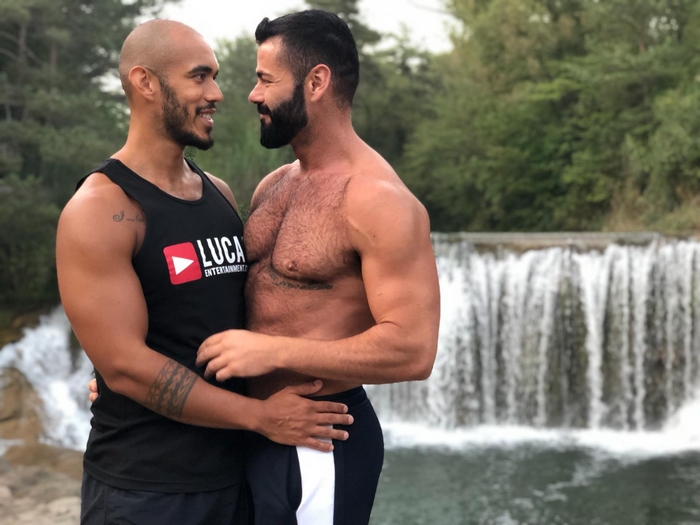 Victor DAngelo Andrea Suarez Louis Ricaute Gay Porn Stars Lucas Entertainment