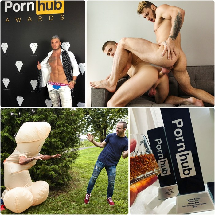 William Seed Gay Porn Pornhub Awards