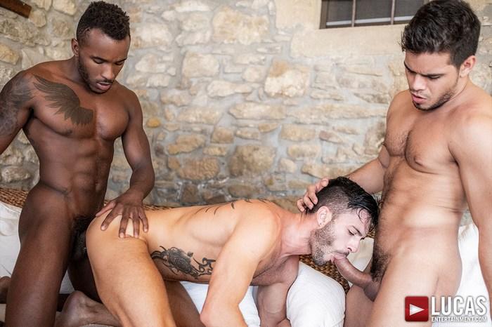 Andy Star Gay Porn Rico Marlon Pheonix Fellington Bareback Sex