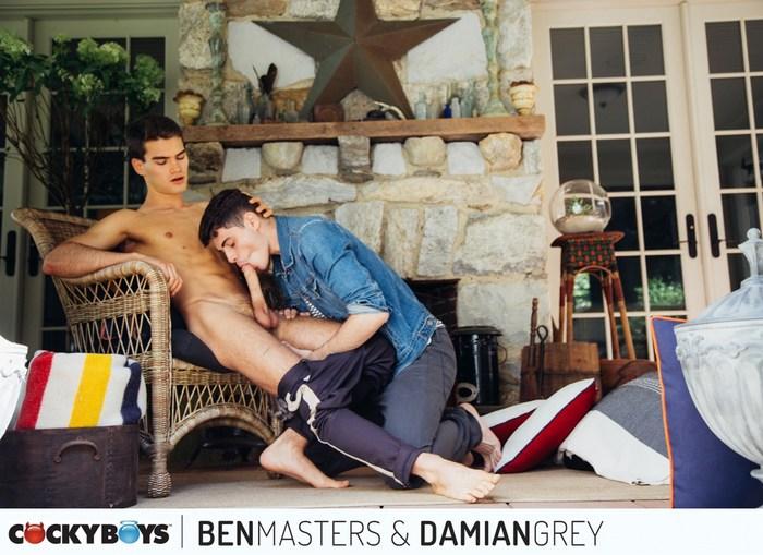 Damian Grey Gay Porn Ben Masters CockyBoys