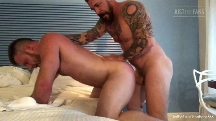 Gay Porn Brian Bonds Mason Lear Bareback Sex Tape JustForFans