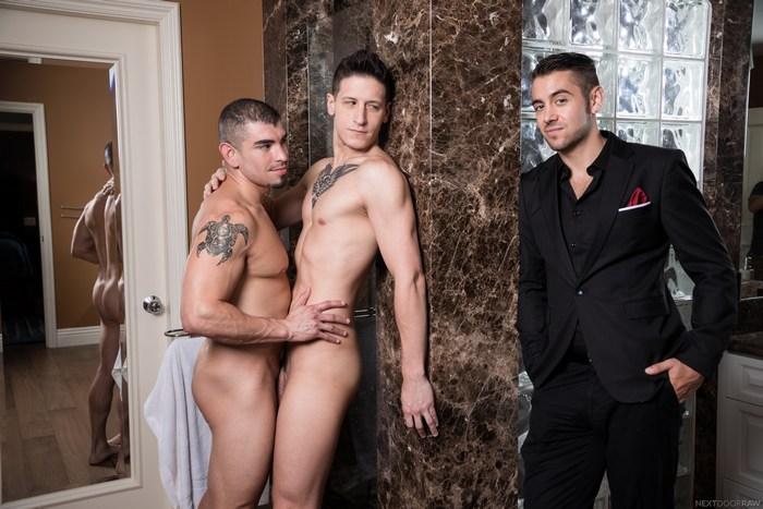 Gay Porn Dante Colle Dalton Riley Jeremy Spreadums Bareback Fuck