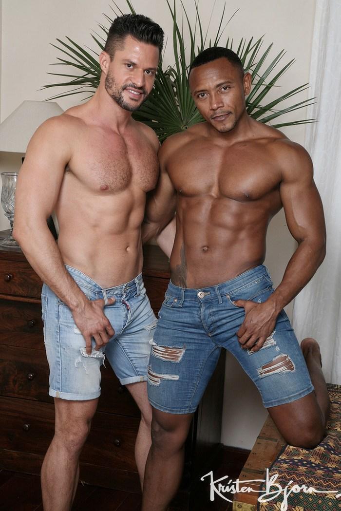 Kris de Fabio Gay Porn Santi Sexy KristenBjorn Interracial Sex