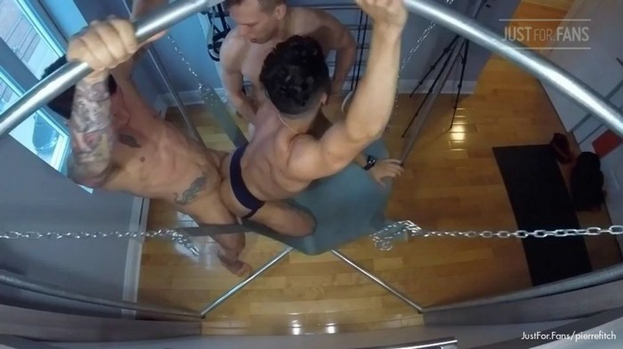 Pierre Fitch Gay Porn Bareback Sex Tape JustForFans