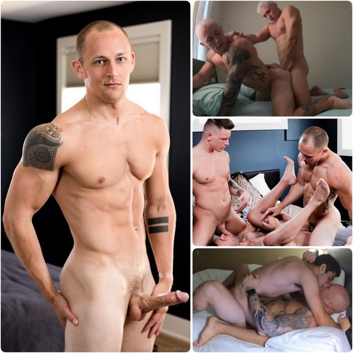 Trevor Laster Gay Porn Muscle Hunk Bareback Sex