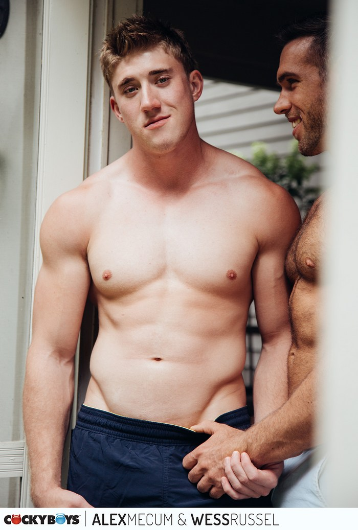 Wess Russel Gay Porn Star Muscle Hunk Shirtless CockyBoys