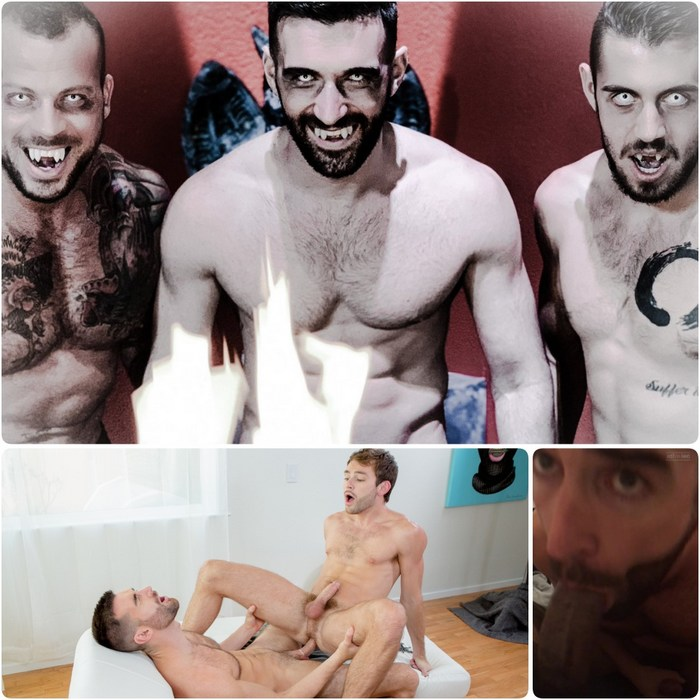 Woody Fox Vampire Gay Porn Sean Duran Dante Colle Max Adonis