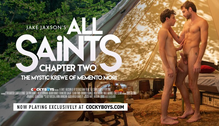 All Saints Chapter Two Gay Porn Max Adonis Cole Claire