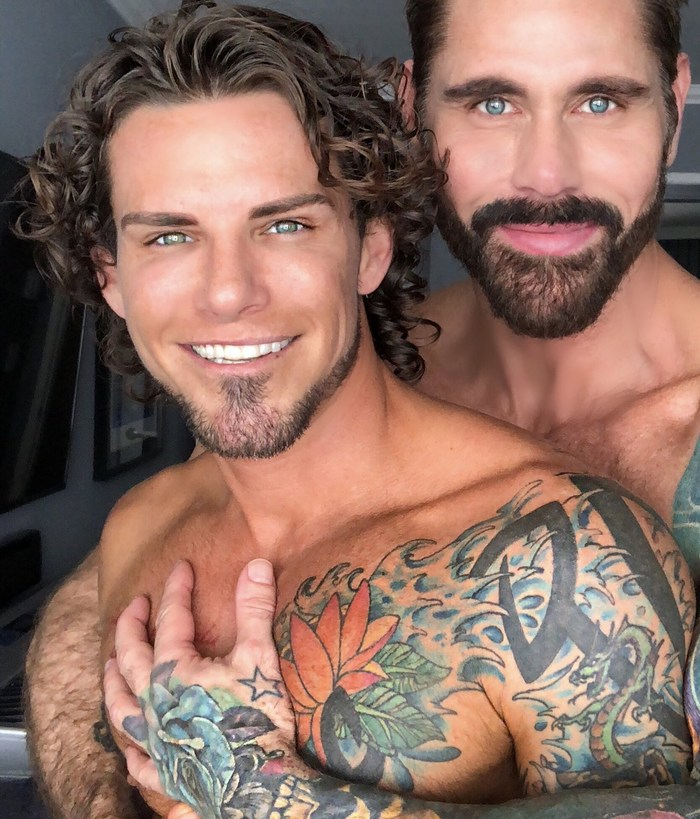 Archer Croft Gay Porn Star Shirtless Tattoo Jack Mackenroth