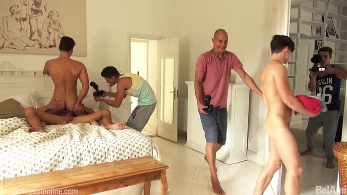 Boot Camp BelAmi Gay Porn Behind The Scenes