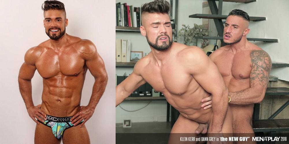 Hot Muscle Hunk Dann Grey Makes Gay Porn Debut On Menatplay, Bottoms For  His Real-Life Boyfriend Klein Kerr