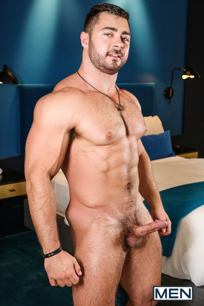 Derek Bolt Gay Porn Star Bodybuilder Naked Muscle Hunk