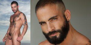 Edji Da Silva Gay Porn Star Beard Shirtless XXX