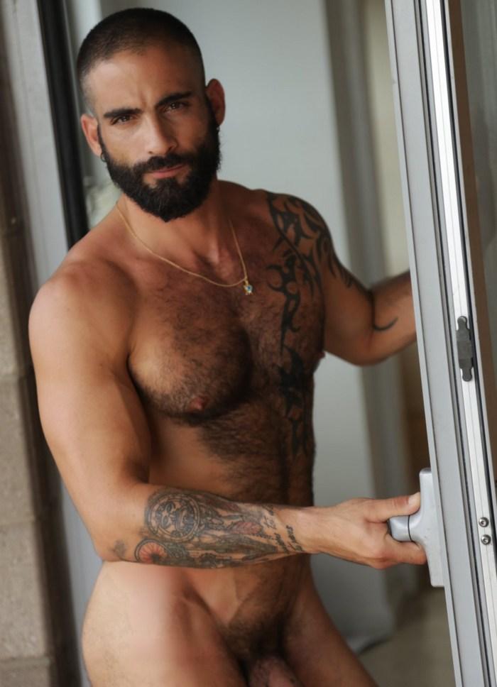 Edji Da Silva Gay Porn Star Naked Hairy Beard