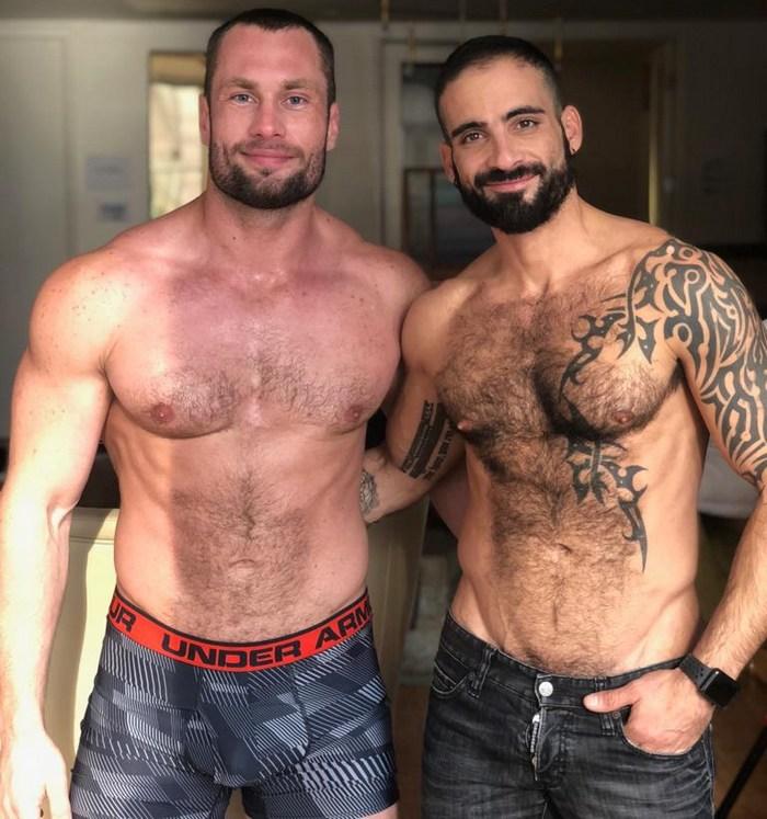 Edji Da Silva Stas Landon Gay Porn BTS