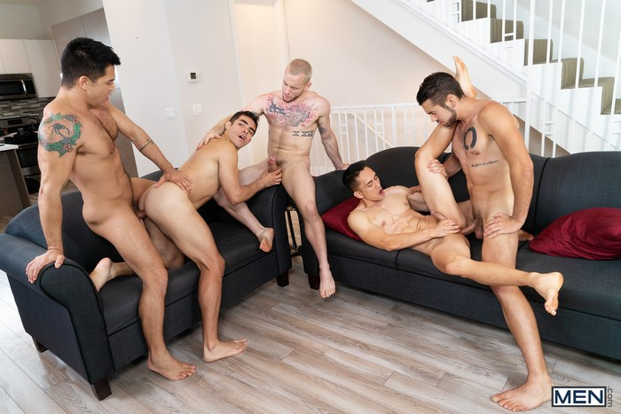 Gay Porn Bareback Orgy Cazden Hunter Colton Grey Dante Colle Dominic Pacifico Marcus Tresor