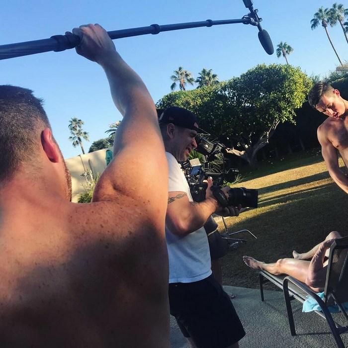 Gay Porn Behind The Scenes Skye Knox Steven Lee