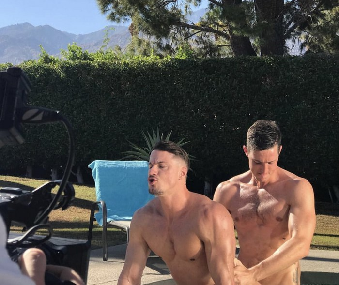 Gay Porn Behind The Scenes Skyy Knox Steven Lee TheGayGringo