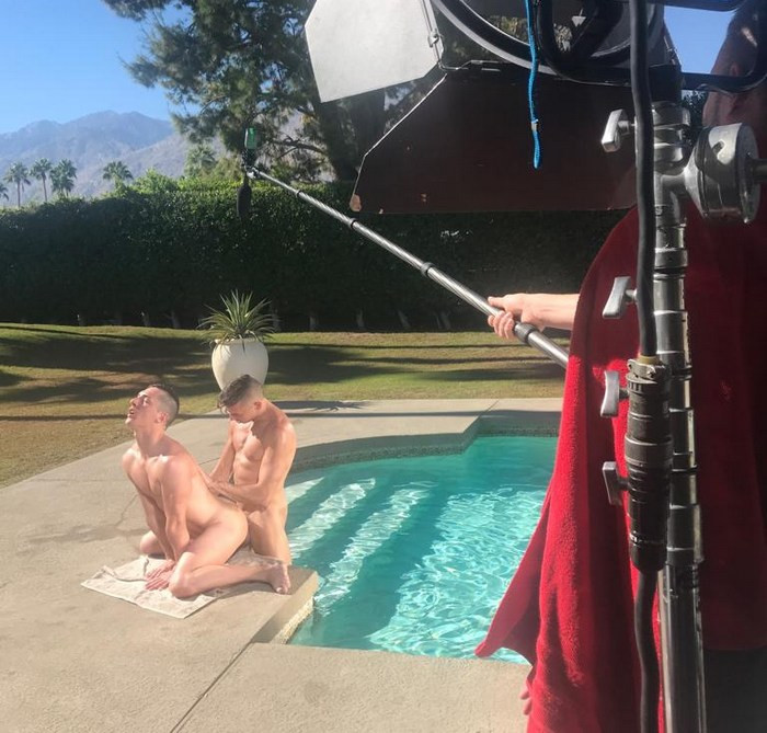 Gay Porn Behind The Scenes Tristan Hunter Shane Jackson