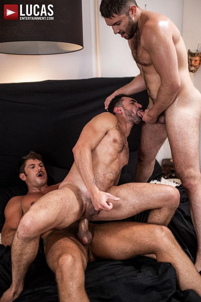 Gay Porn Ben Batemen Tyler Roberts Ian Greene Muscle Hunk Bareback Sex