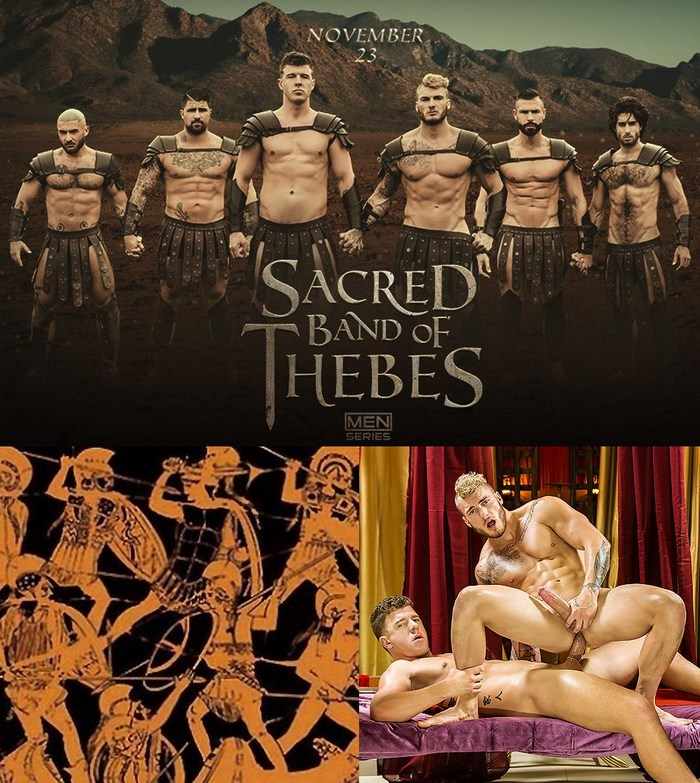 Gay Porn Sacred Band Of Thebes William Seed DO JJ Knight Ryan Bones Diego Sans Francois Sagat
