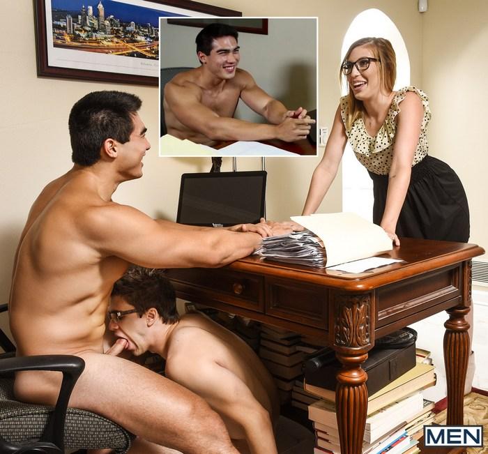 Gay Porn Sneaky Sex Axel Kane Will Braun