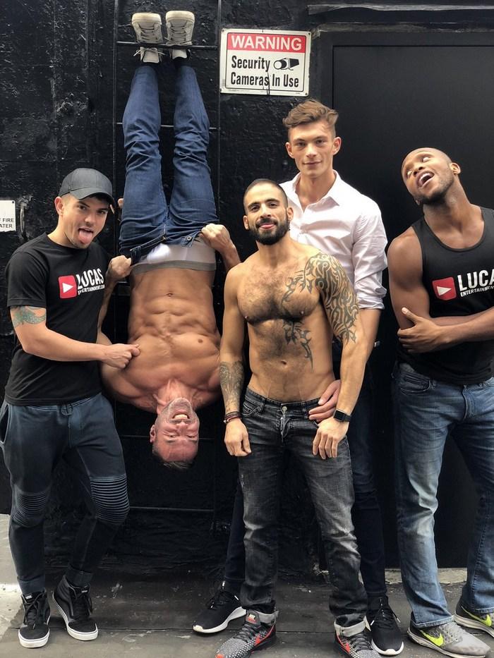 Gay Porn Stars Outtaeks New York 2018