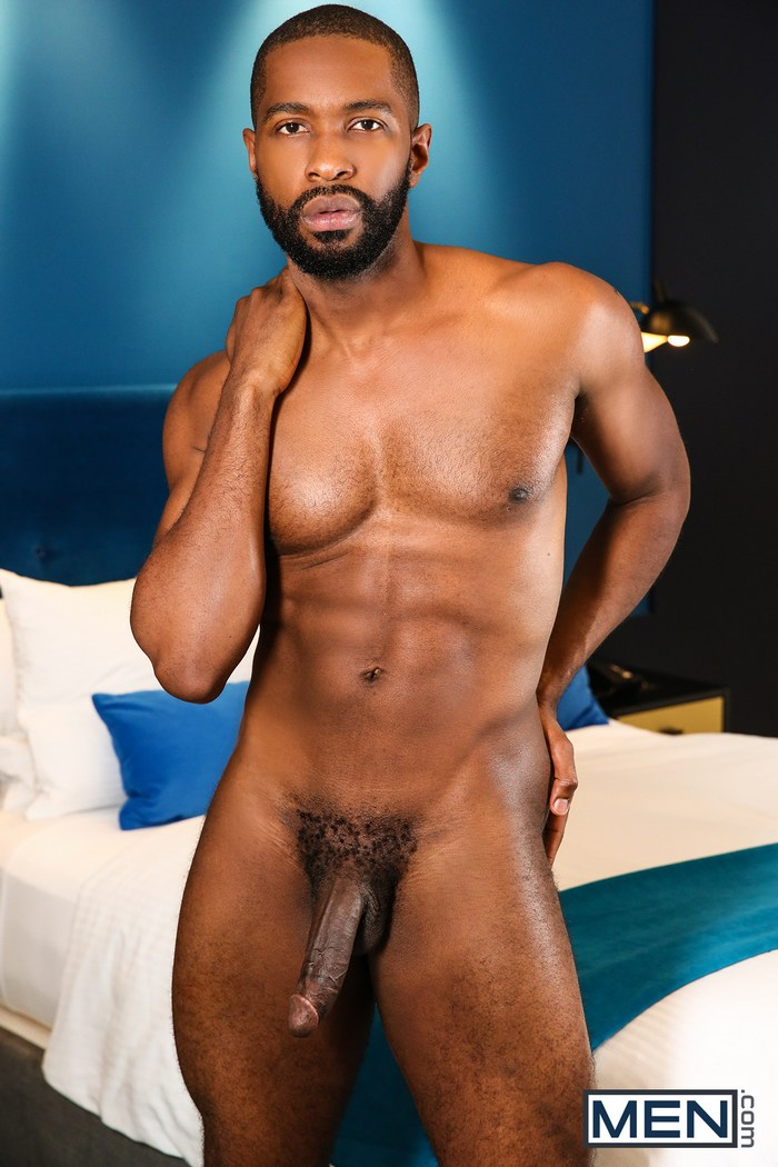 Lawrence Portland Black Gay Porn Star Naked Big Dick