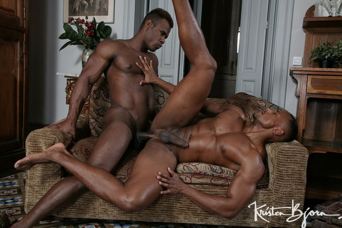 Gay black bareback