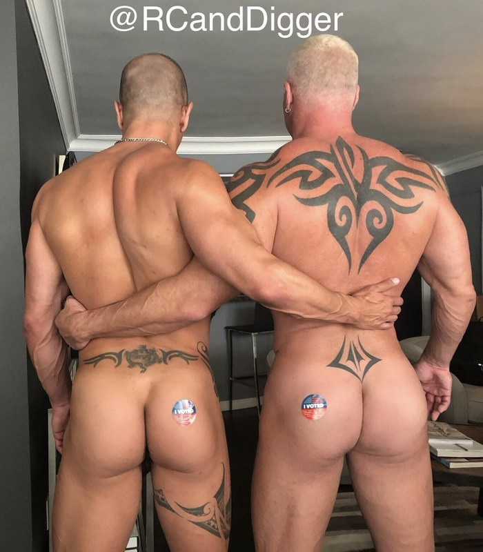 Ryan Carter Digger Naked Muscle Daddy