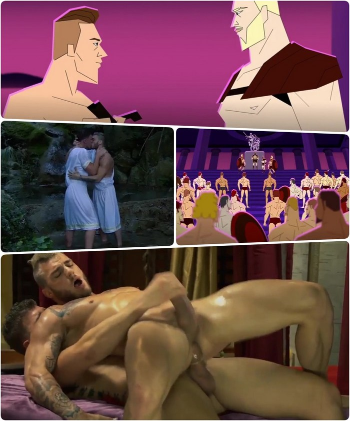Sacred Band Of Thebes Gay Porn Cartoon Animation William Seed Bottom JJ Knight