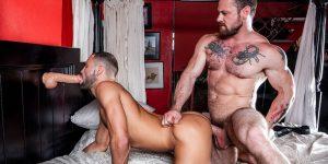 Sergeant Miles Gay Porn Jeffrey Lloyd Muscle Hunk Bareback Sex Dildo XXX