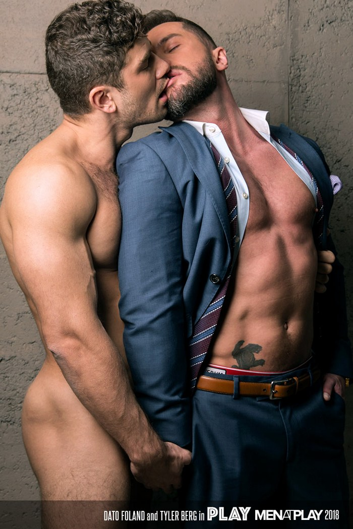 tyler berg returns to gay porn bottoms for dato foland