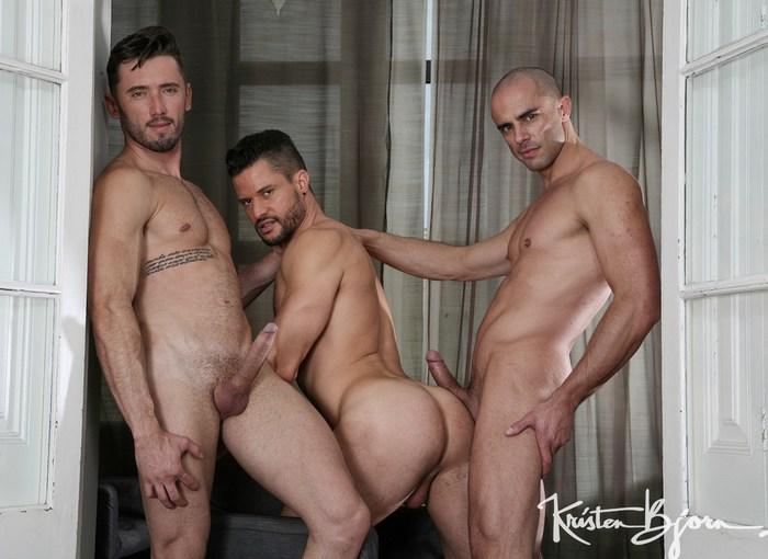 Diego Summers Gay Porn Kris de Fabio Marcos Oliveira Bareback Sex KristenBjorn