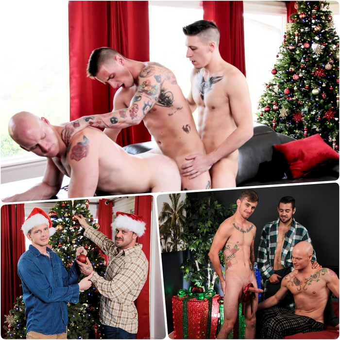 Gay Porn Christmas Sex Next Door Studios 2018