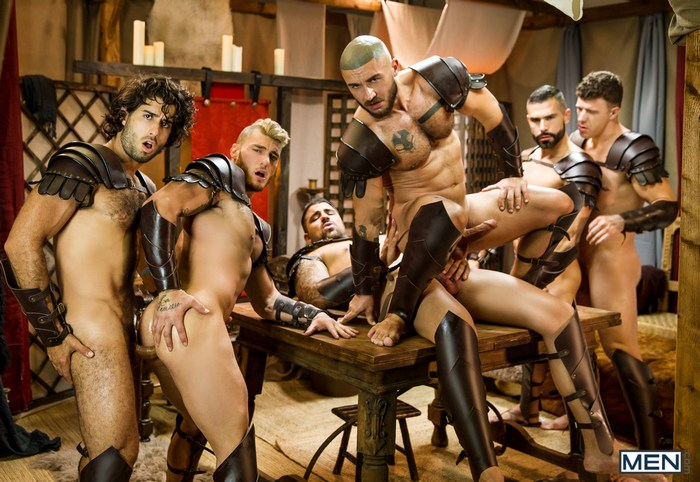 Gay Porn Orgy Greek Warriors William Seed Diego Sans DO Francois Sagat Ryan Bones JJ Knight