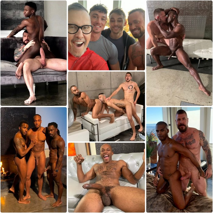 Gay Porn Star Noir Male Behind The Scenes December 2018
