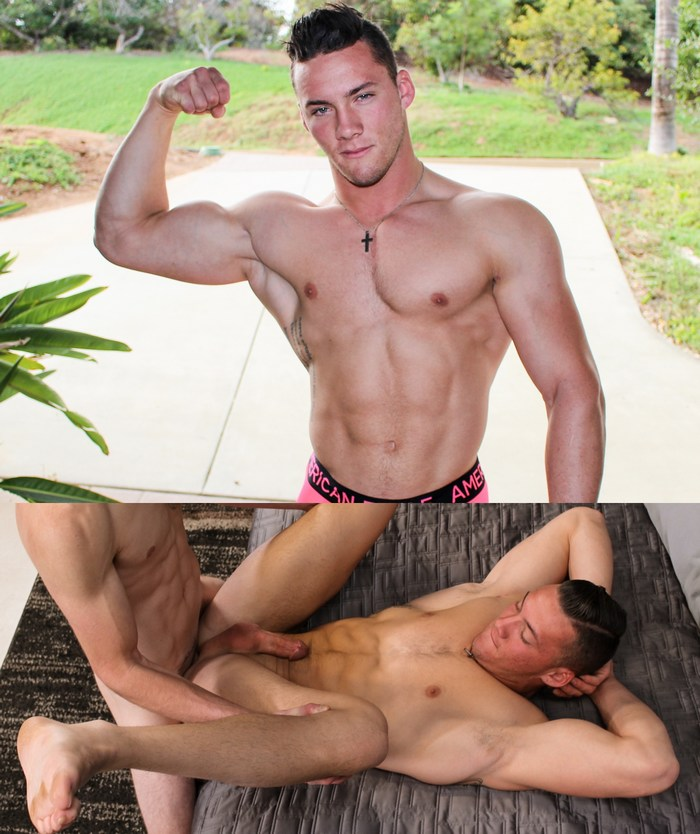 Jesse Kovac Gay Porn Star Bottom Muscle Hunk ActiveDuty