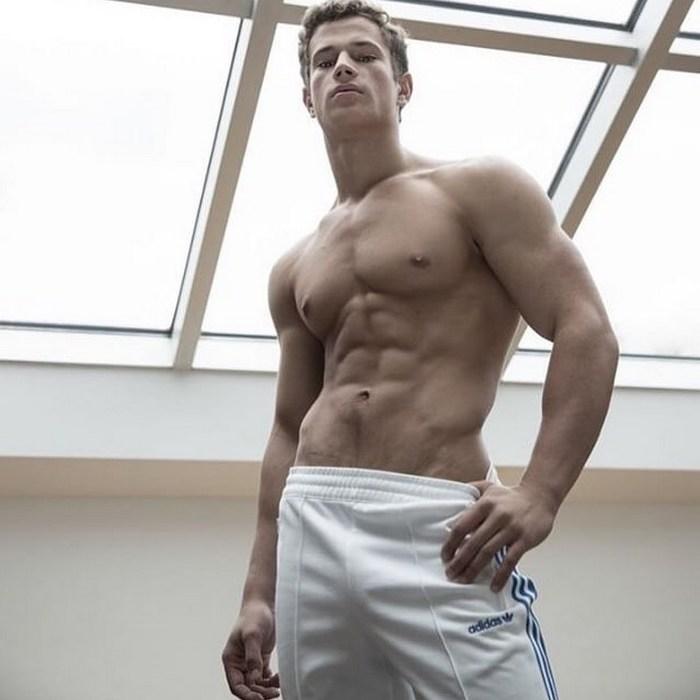 Yannis Paluan BelAmi Gay Porn Star Shirtless Muscle Jock