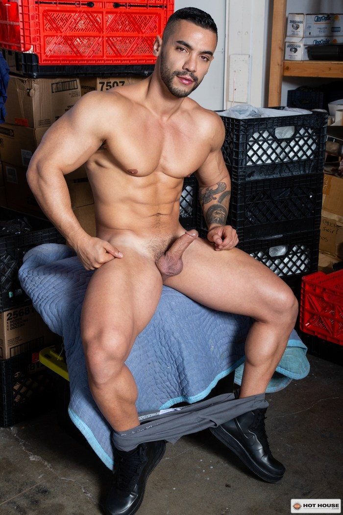 Arad Winwin Gay Porn Star Naked Muscle Hunk HotHouse